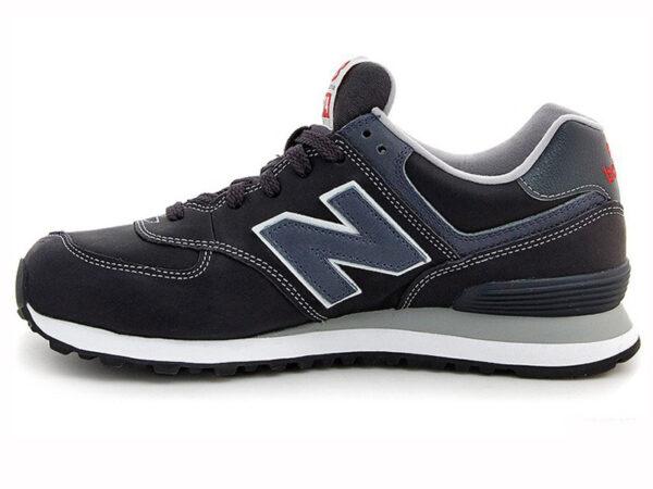 Кроссовки New Balance 574 мужские черные с темно-синим