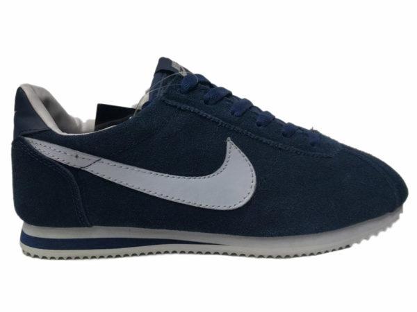Зимние Nike Cortez темно-синие