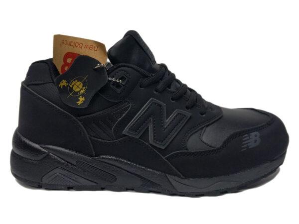 Зимние New Balance 580 черные