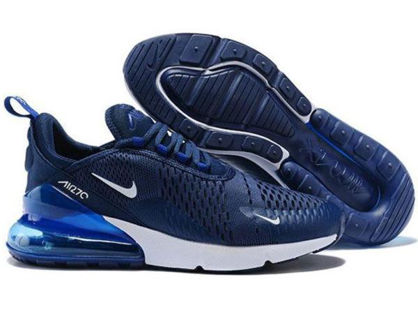 Nike Air Max 270 синие из нейлона