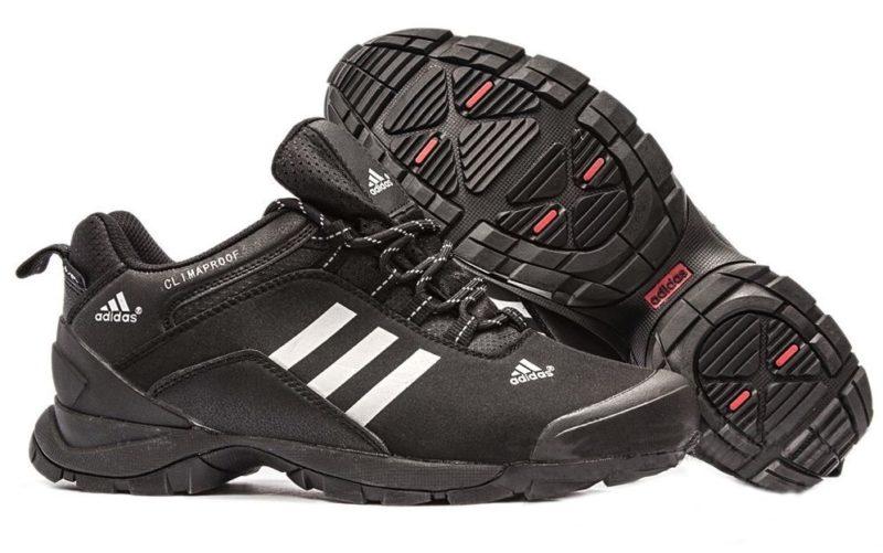Adidas Terrex Climaproof Black черные с белым 40-45