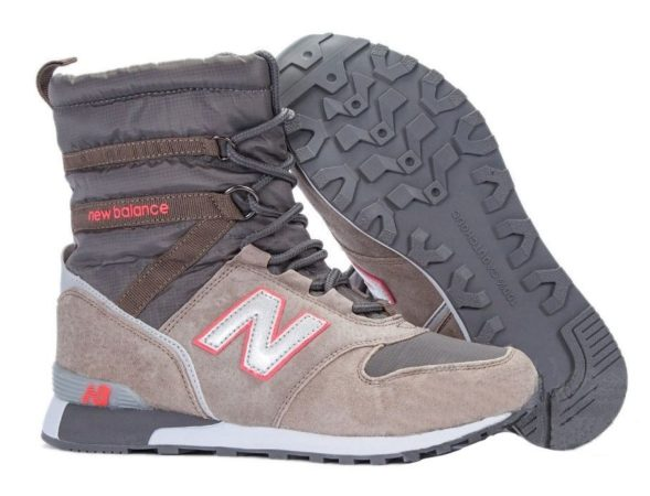 Сапоги New Balance Snow Boots серые 36-40