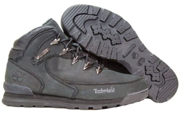 Серые ботинки Timberland
