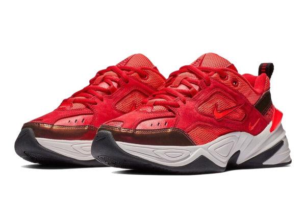 Nike M2K Tekno красные (35-44)