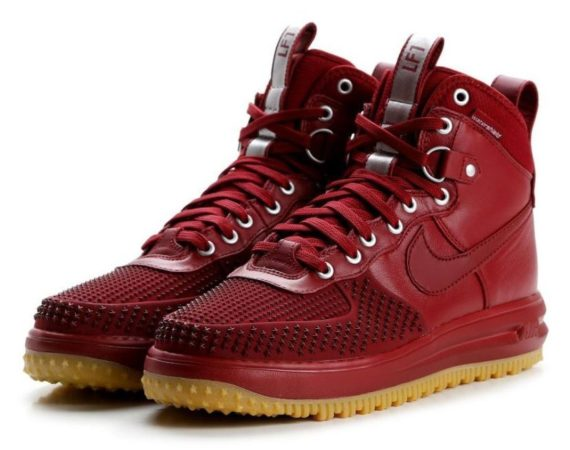 Nike Air Force 1 Lunar Duckboot красные (40-44)