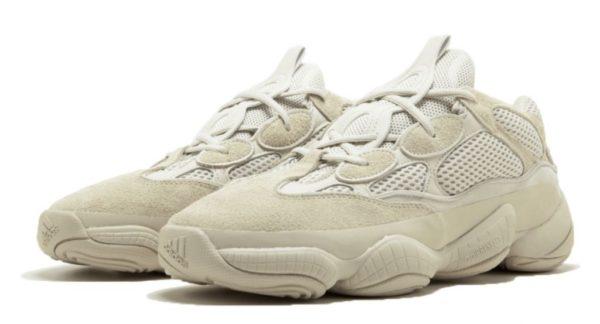 Женские кроссовки Adidas Yeezy Boost 500