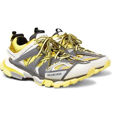 Кроссовки Balenciaga Track желтые (35-39)