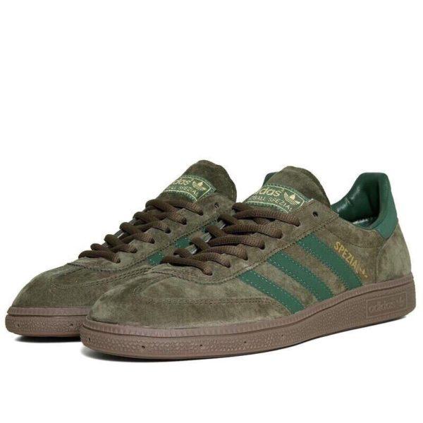 Adidas Spezial темно-зеленые мужские