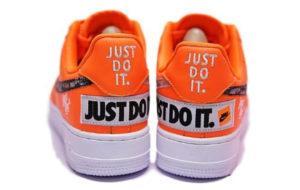 Nike Air Force x OFF White оранжевые (40-44)