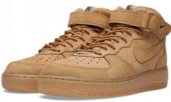 Nike Air Force 1 коричневые (35-44)