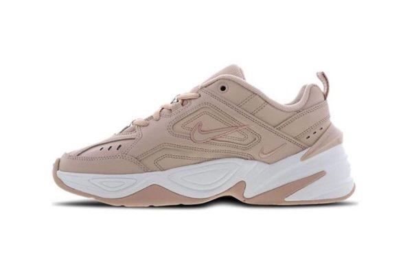 Кроссовки Nike M2K Tekno бежевые (35-39)
