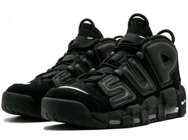 Nike Supreme x Air More Uptempo (Black)