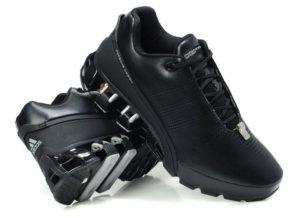 "Adidas Porsche Design P'5000 ""Leather"" черные с серым (39-45)"