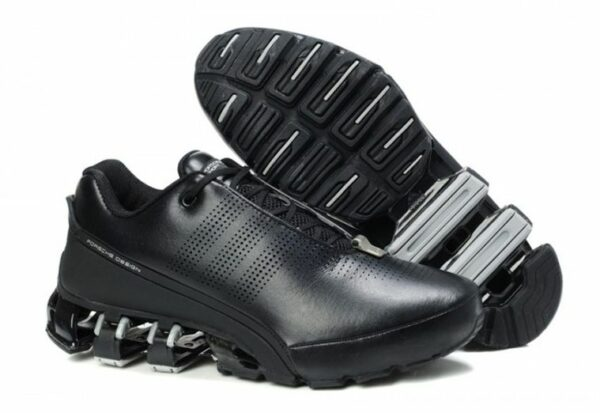 "Adidas Porsche Design P'5000 ""Leather"" черные с серым (39-45)"