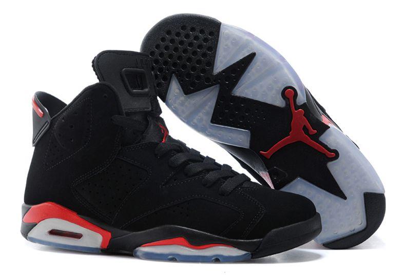 Air Jordan 6 Retro черные (35-45)
