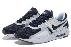 Nike Air Max 87 Zero белые с синим (39-45)