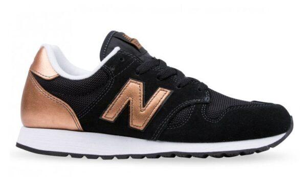 New Balance 520 черные с золотым (35-39)
