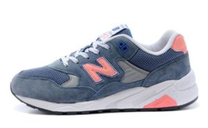 New Balance 580 синие с оранжевым (35-39)