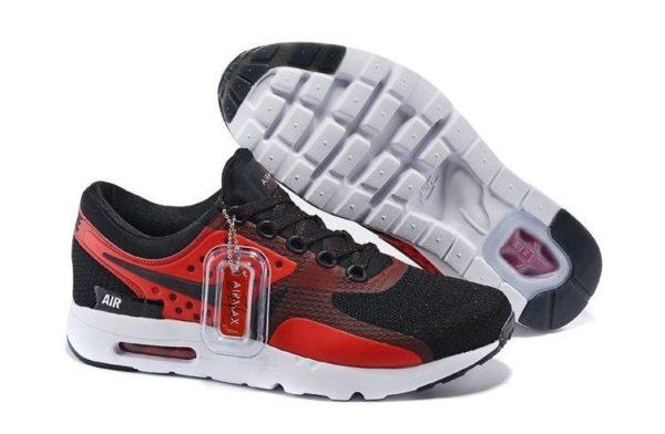 Nike Air Max Zero черные с красным (39-44)