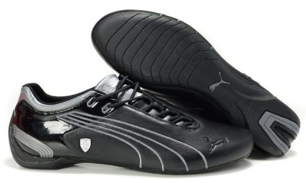 Puma Ferrari черные с серебром (39-44)