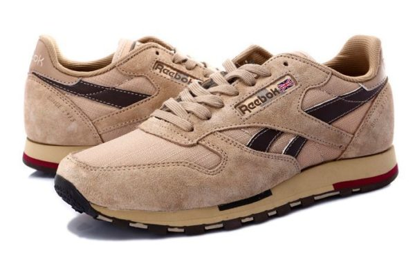 Reebok Classic Leather Utility коричневые (39-44)
