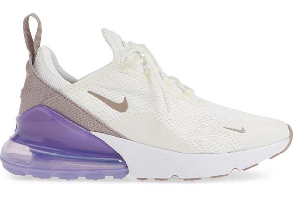 Сиреневые кроссовки Nike