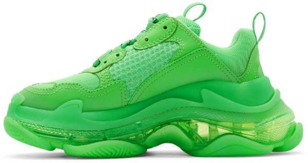 Balenciaga Triple S зеленые (35-39)