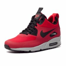 Nike Air Max 90 Winter Mid red красные (40-44)