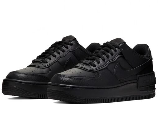 Nike Air Force 1 Shadow черные (35-44)